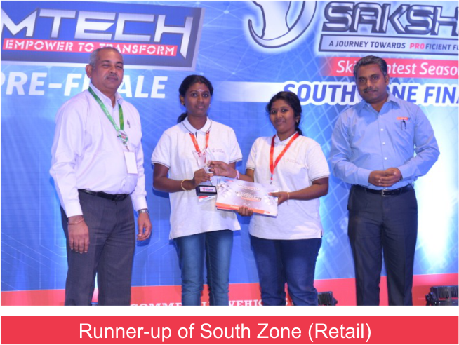 Eicher Saksham Website South Zone (9.3.19) Retail Runner up