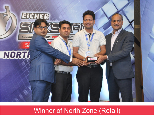 Eicher Saksham Winner (9.3.19) Retail Winner