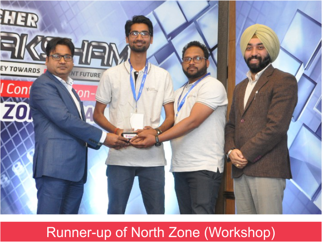 Eicher Saksham Winner (9.3.19) Workshop Runner up