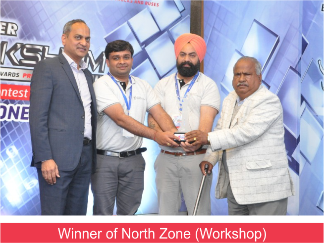 Eicher Saksham Winner (9.3.19) Workshop Winner